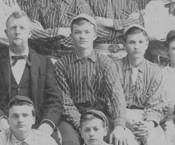 Luther Taylor, center. 1894.