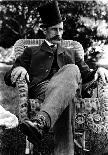 portrait of Jack Linn.