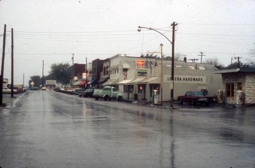 Downtown Lenexa.