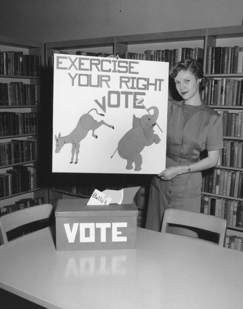 Voting display