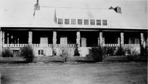 Milburn clubhouse, 1930.