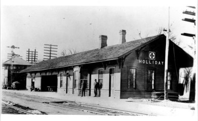 Holliday depot
