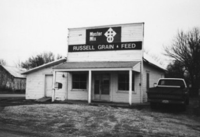 Russell Grain and Feed store