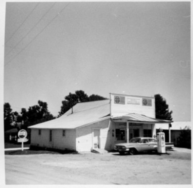 Russell's Grain and Feed store