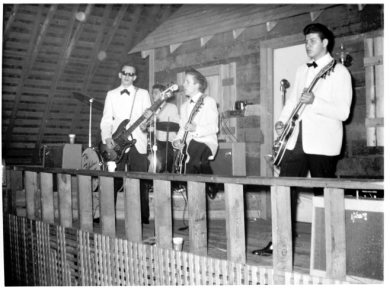 The Silver Tones playing at the Soc Hop, 1960.