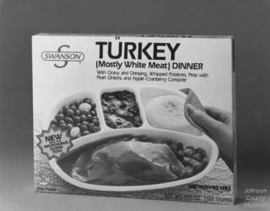 frozen turkey dinner