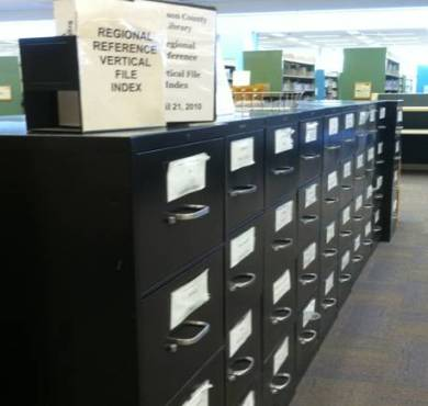 Regional Reference cabinets