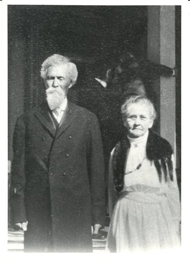 Patrick and Helen McAnany in 1919.