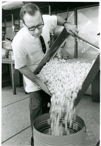 Ken White at Velvet Creme in Westwood, circa 1960 Original image: http://www.jocohistory.org/cdm/ref/collection/jcm/id/8302