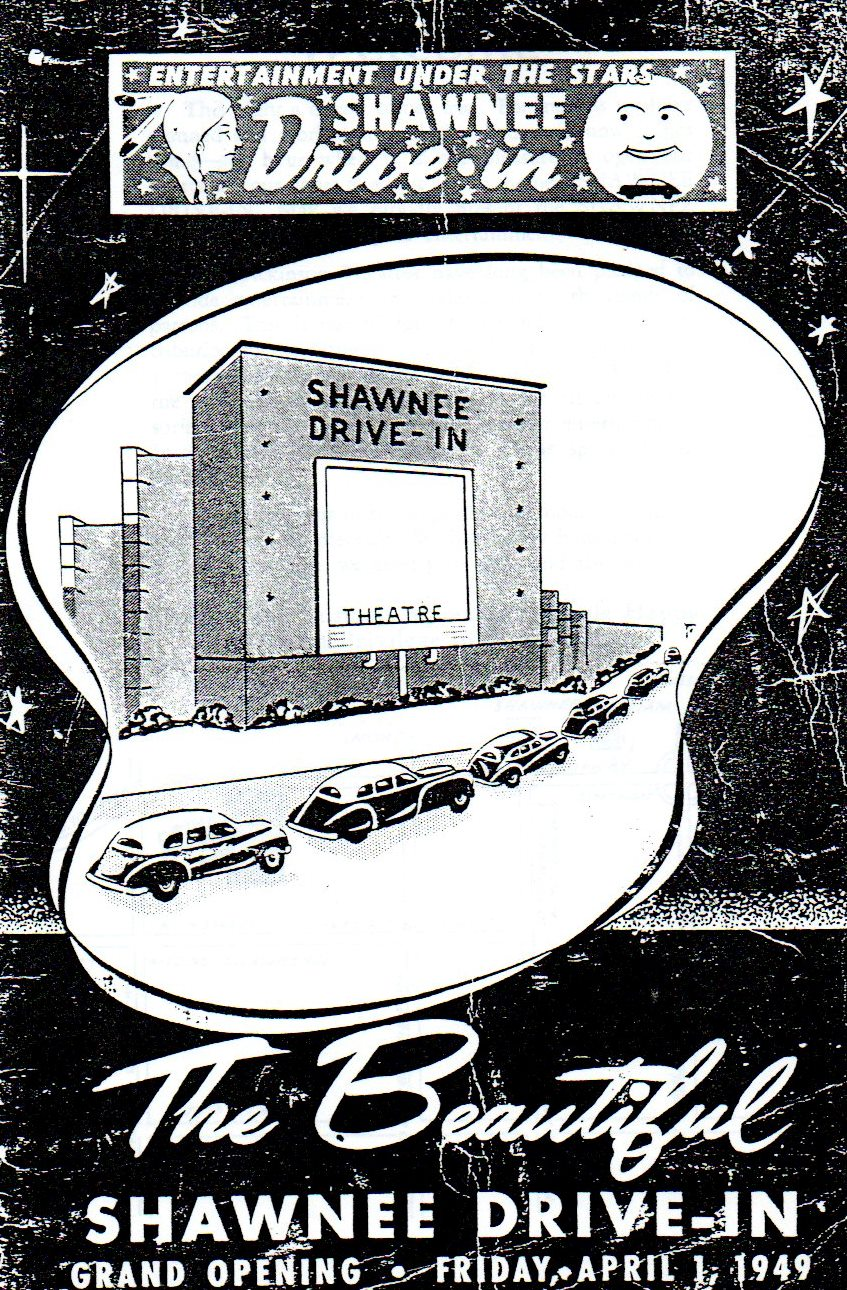 Dickinson Drive In Theatres In Johnson County Jocohistory Blog