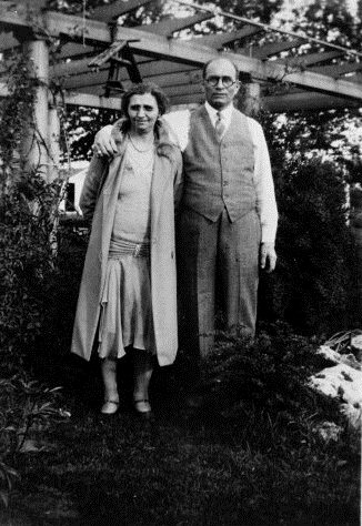 Sol and Dora Finkelston, circa 1939.