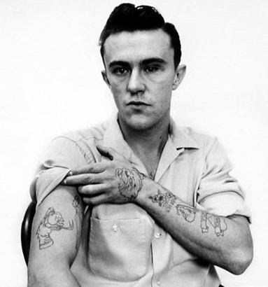 Dick Hickock in prison in 1960.  Photo by Richard Avedon.