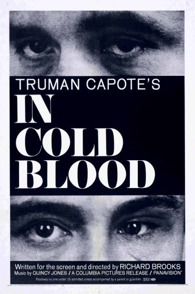 """In Cold Blood"" movie poster from 1967."