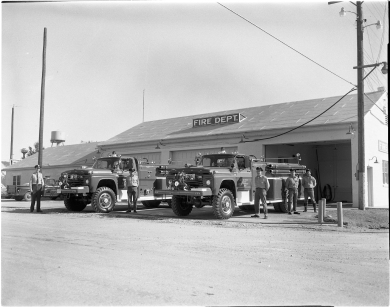 Sunflower Fire Department, 1967.