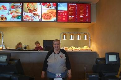 Taco Via employee Debbie Izard.