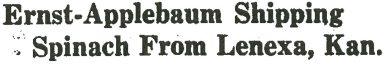 Headline in the Chicago Packer, November 24, 1934.