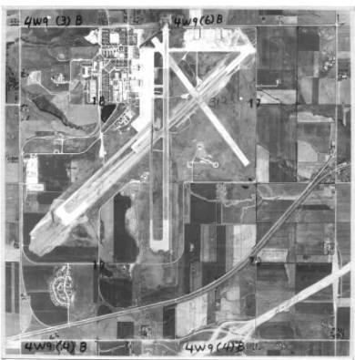 Aerial view of New Century AirCenter