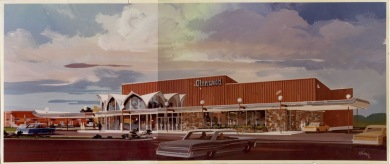 Glenwood Theatre, ca. 1968. Source: JoCo Museum.