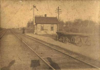 Lackman Station, 1900-1910 ca. Source: JoCoHistory.org.