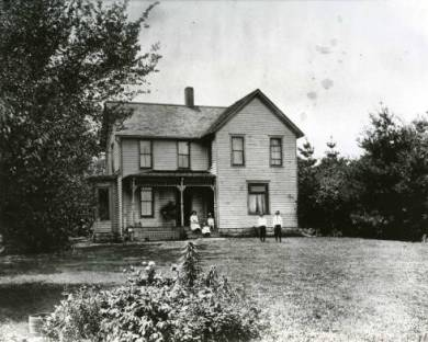 Louis D. Breyfogle farm house. Source: JoCoHistory.org.