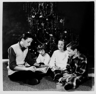 The Hartman children, in Overland Park, 1959.