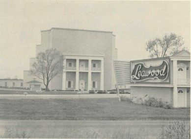 entrance to the Leawood Drive-In