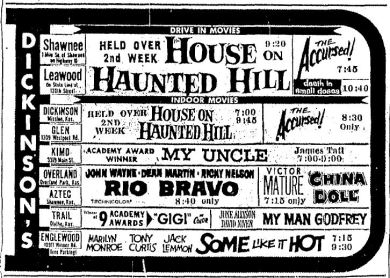 07 1959 Dickinson Showtimes