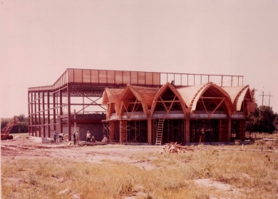 A view of the Glenwood under construction.