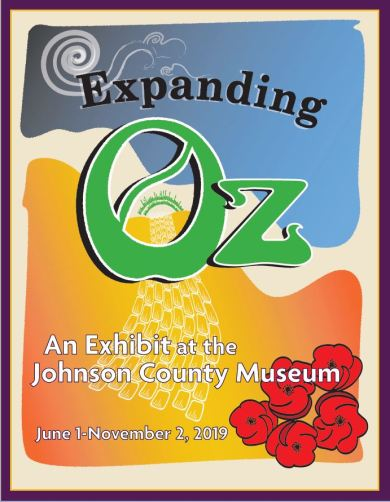 Expanding Oz, the newest temporary exhibit at the Johnson County Museum!