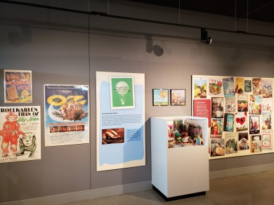 """""""Expanding Oz"""" explores the international obsession with the Land of Oz through pop culture objects and books."""
