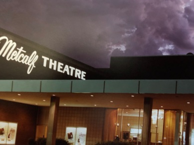 Metcalf Theatre entrance