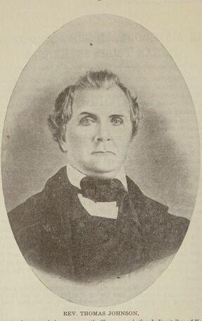 Portrait of Thomas Johnson