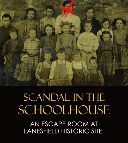 To make reservations for the Escape Room at the Lanesfield School Historic Site, call (913) 715-2570.