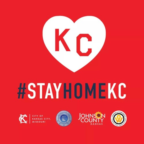 #StayHomeKC encourages you to stay home, social distance, and stay healthy.