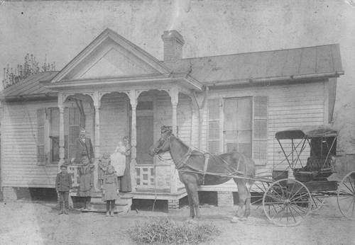 """Dr. Tiberius Gracchus Jones, a horse and buggy doctor in Tennessee, and father-in-law to Kansas' infamous Dr. John R. """"Doc"""" Brinkley, in 1898. Courtesy Kansas Historical Society."""