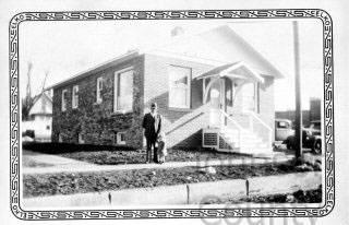 Reece Hospital as it appeared in 1934. Johnson County Museum.