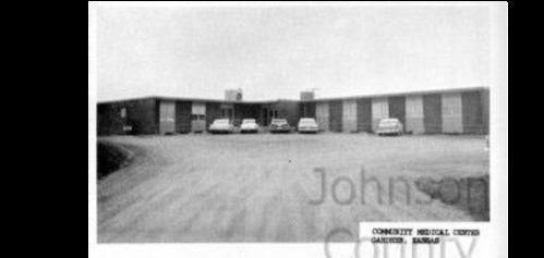 Gardner Community Medical Center was built in 1961. Johnson County Museum.