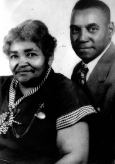Robert Lee and Mary Jennings McCallop. Robert was the son of Harrison and Nellie.